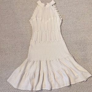 Moda international crochet dress